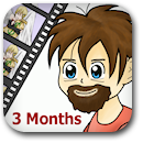 Life on Anime: 3 Months Badge Image