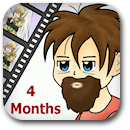 Life on Anime: 4 Months Badge Image