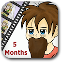 Life on Anime: 5 Months Badge Image