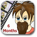 Life on Anime: 6 Months Badge Image