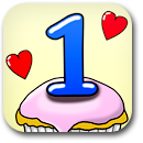 1 Year Badge Image