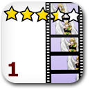 Rated 1 Anime Badge Image