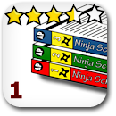 Rated 1 Manga Badge Image