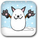 Snow-Cat Badge Image