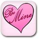 Valentine's Day Be Mine Heart image