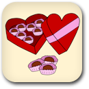 Valentine's Day Chocolates Badge Image