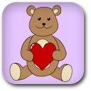 Valentine's Day Teddy Bear image