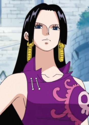 Boa hancock anime planet - Femme chat manga ...