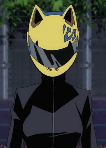 Anime Cat Head