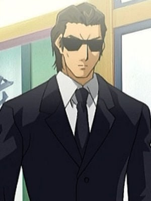 Man in Black | Anime-Planet