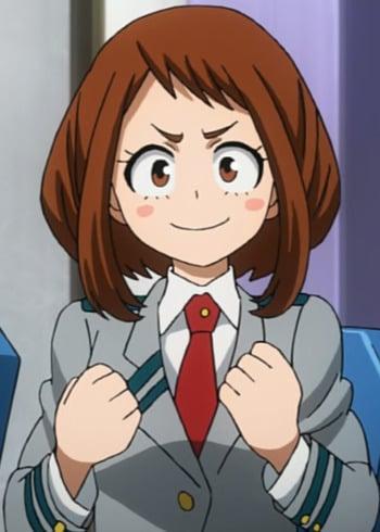 Ochako Uraraka Anime Planet