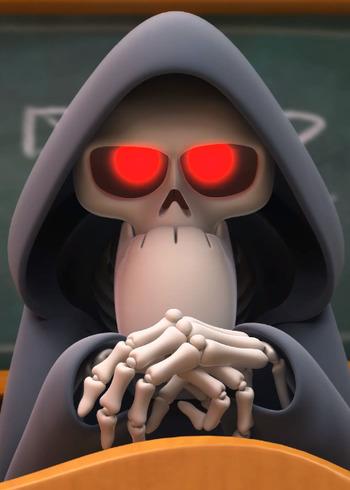 Reaper Sam  Anime-Planet