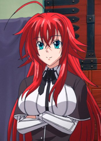 Rias GREMORY | Anime-Planet