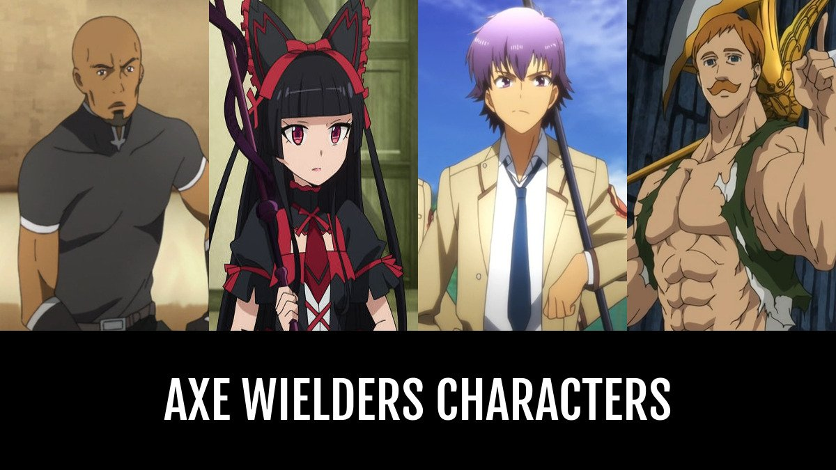 Best Axe Wielders Characters | Anime-Planet