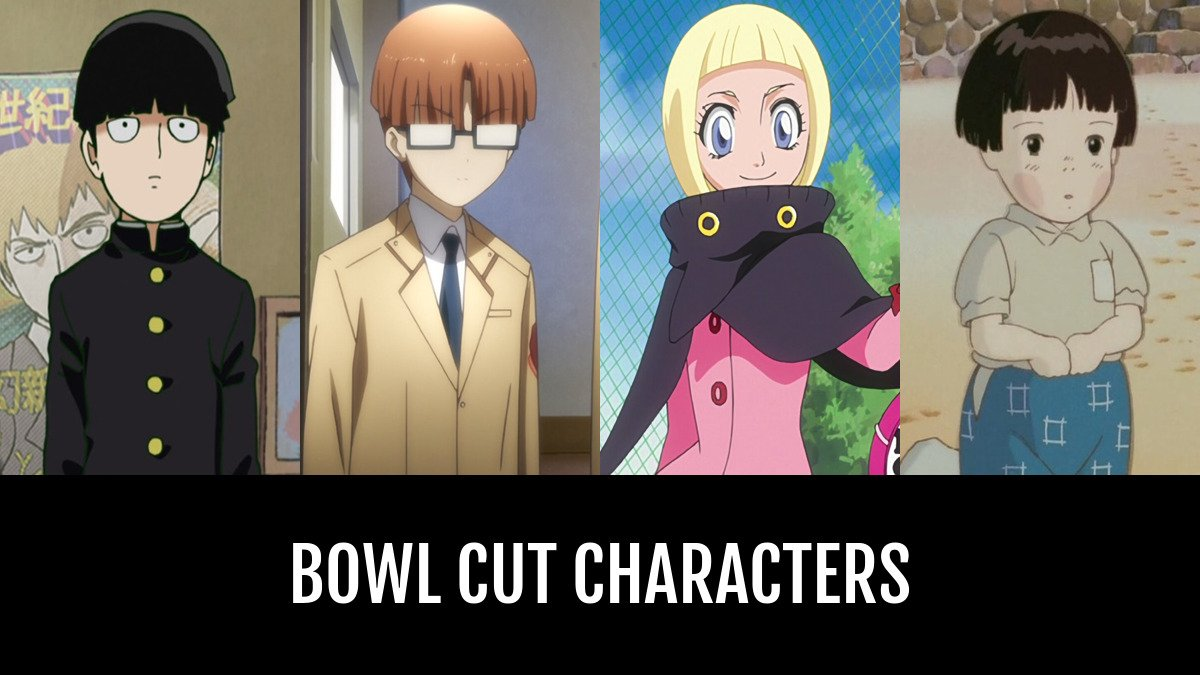 Best Bowl Cut Characters Anime Planet