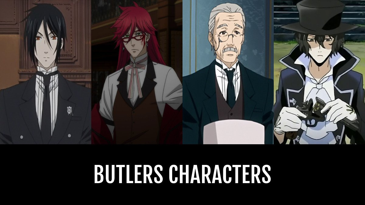 Best Butlers Characters Anime Planet