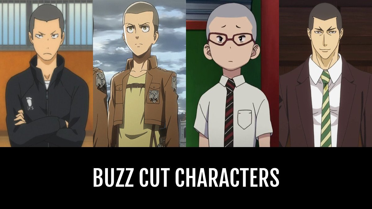 Best Buzz Cut Characters Anime Planet