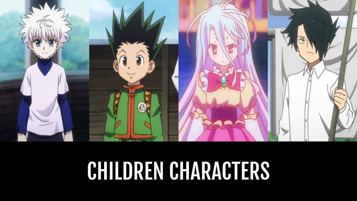 Best Children Characters Anime Planet