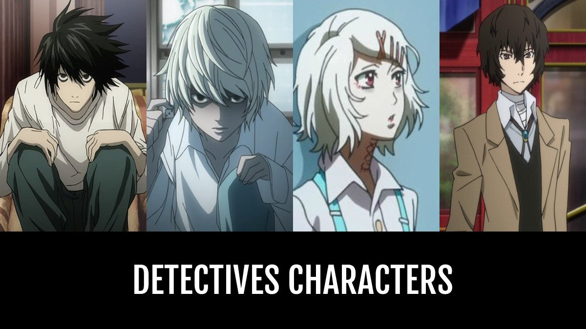 Best detectives characters anime planet