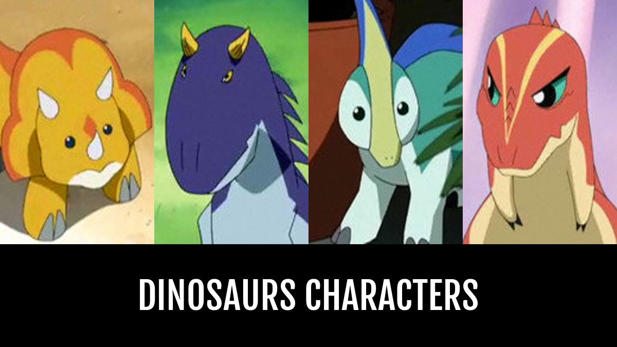 Best Dinosaurs Characters Anime Planet