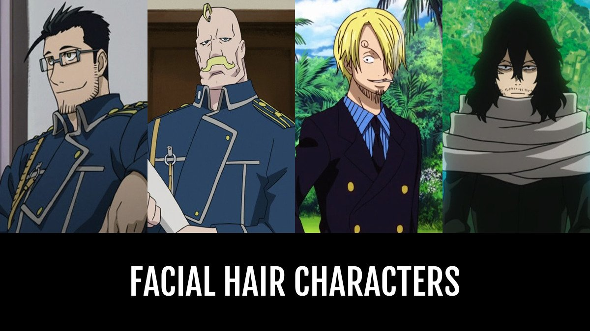 best facial hair characters