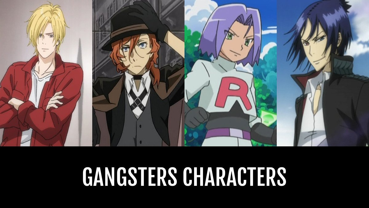 Gangsters Characters Anime Planet