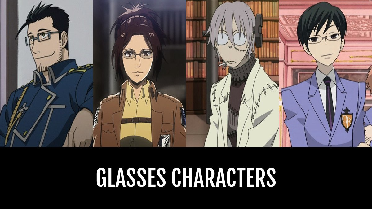 Best glasses characters anime planet