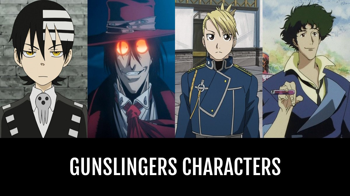 Best Gunslingers Characters Anime Planet