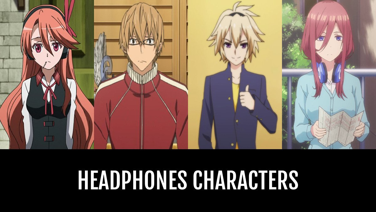 Headphones Characters Anime Planet
