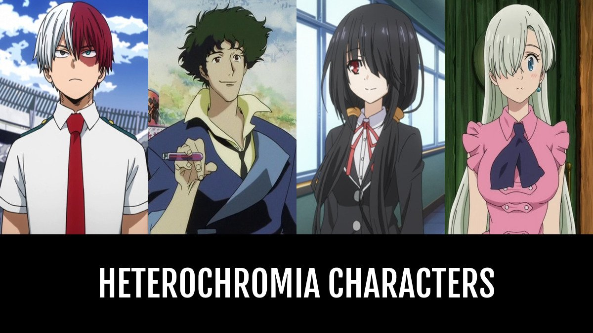 Best Heterochromia Characters Anime Planet