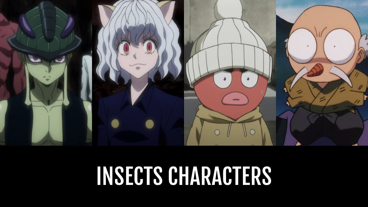best insects characters animeplanet