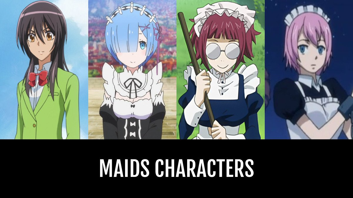 Anime Characters Green : Green haired anime characters best maids