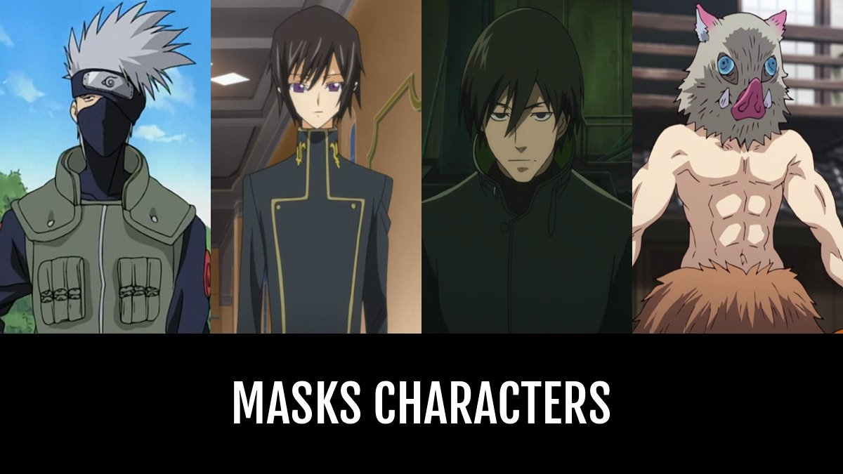 best masks characters animeplanet