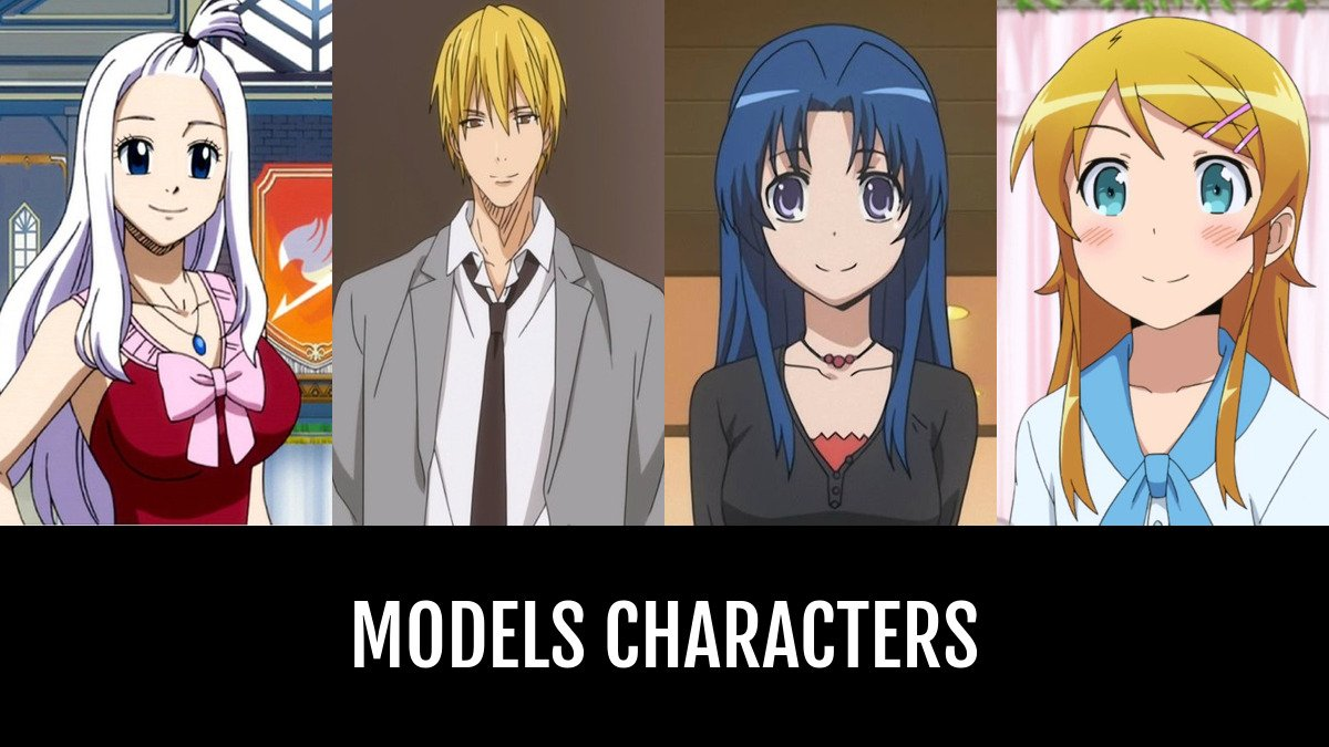 Best models characters anime planet
