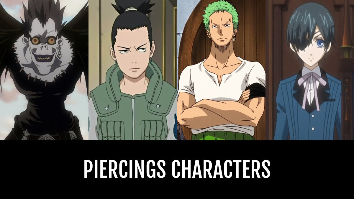 Piercings Characters Anime Planet
