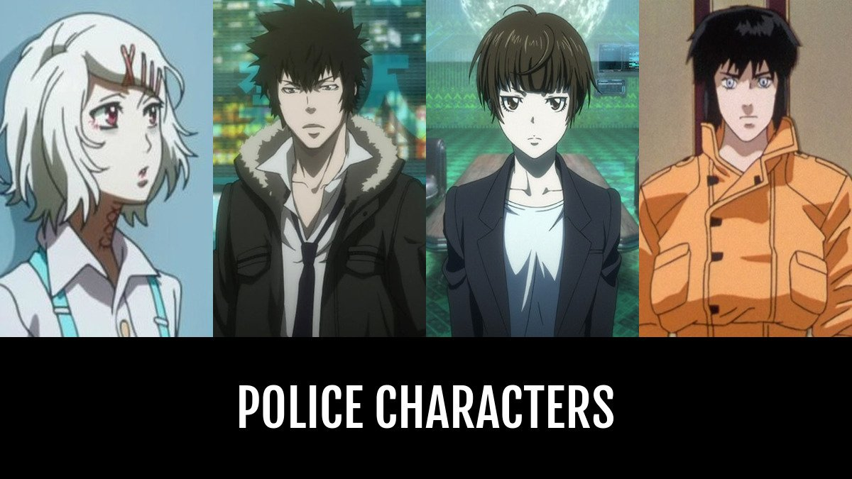 Best police characters anime planet