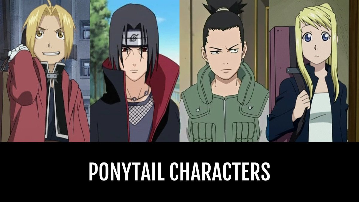 Best Ponytail Characters Anime Planet