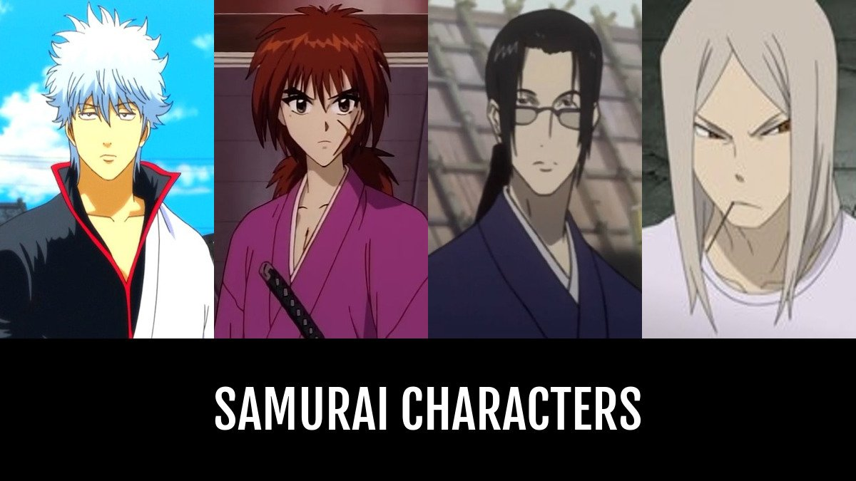 Best samurai characters anime planet
