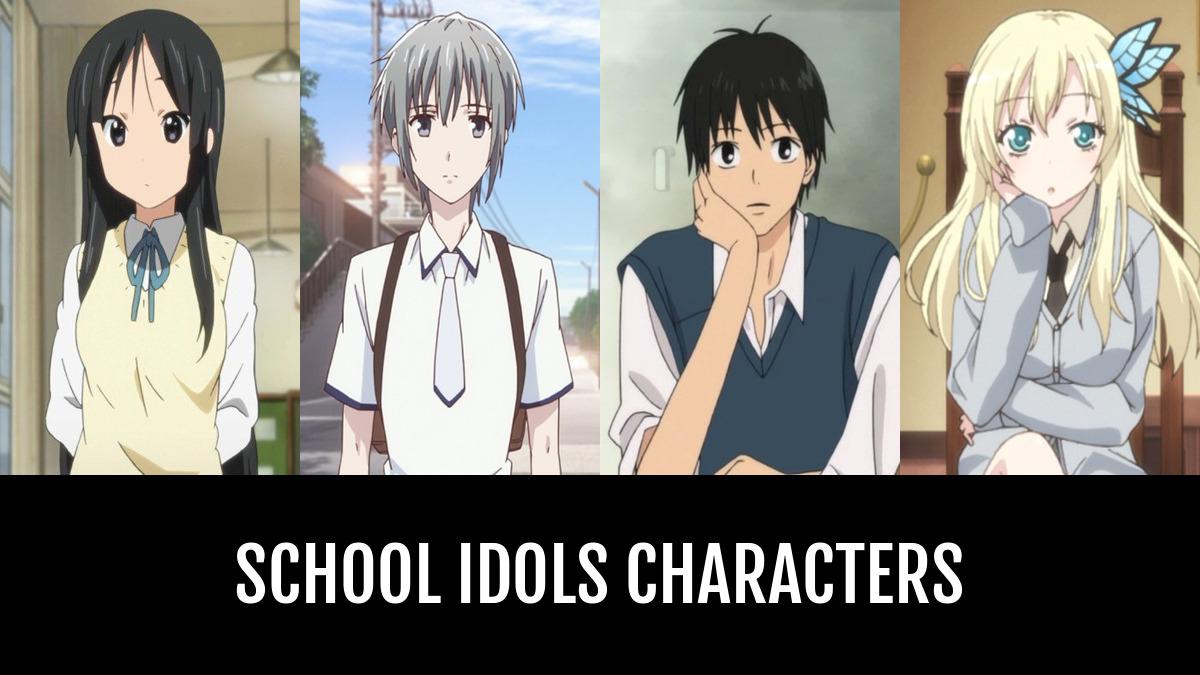 Best School Idols Characters Anime Planet