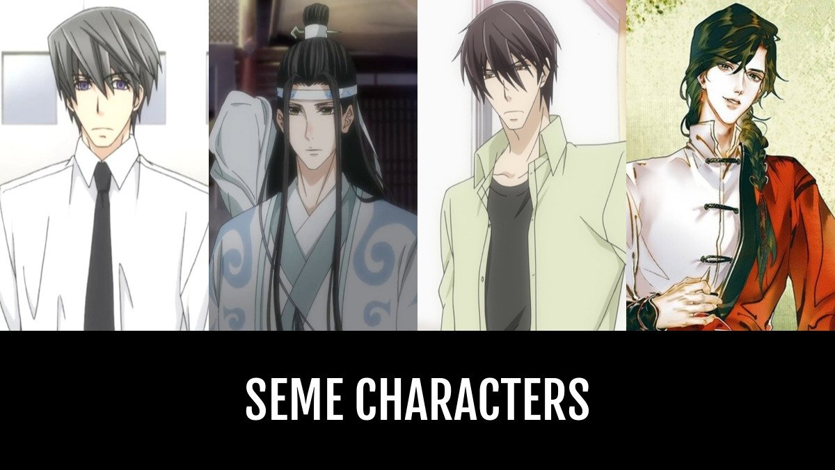 Best Seme Characters Anime Planet