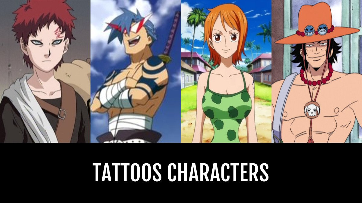 Tattoos Characters Anime Planet