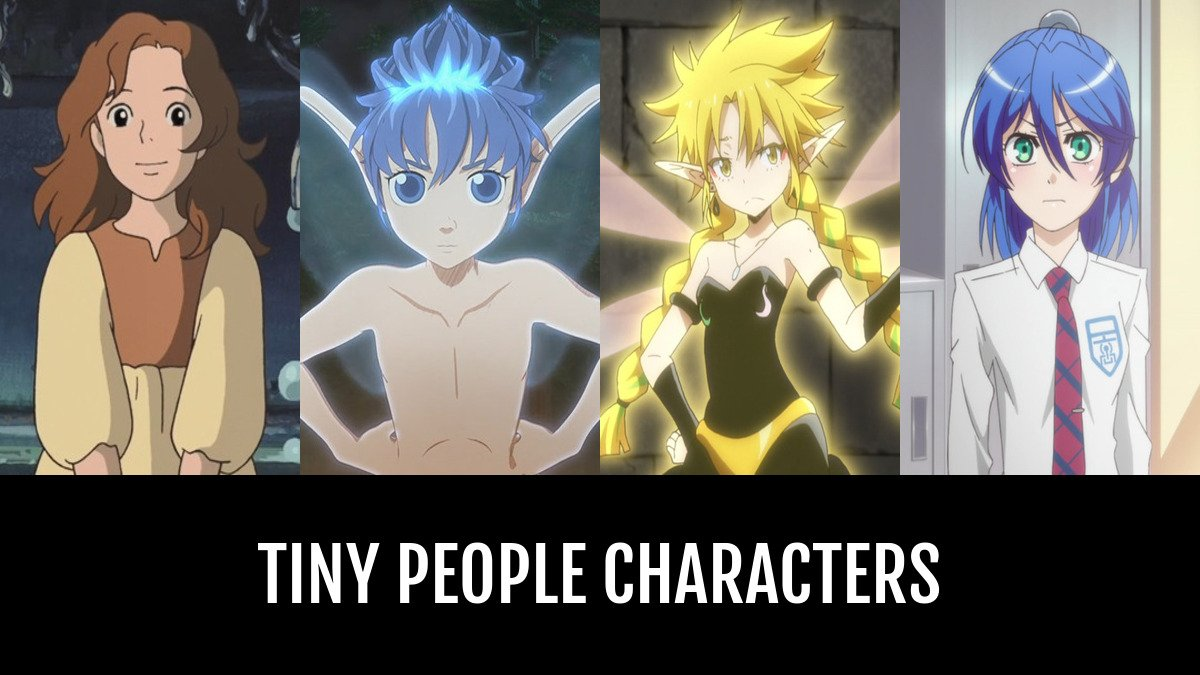 Best Tiny People Characters Anime Planet