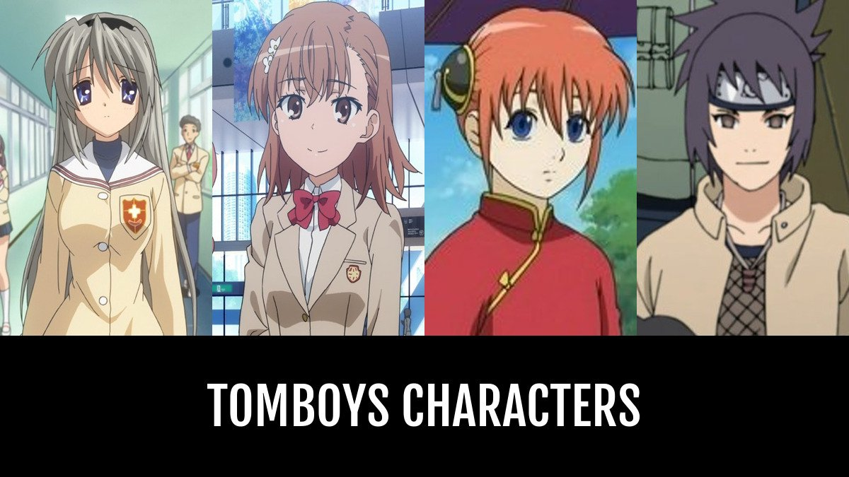 Best Tomboys Characters