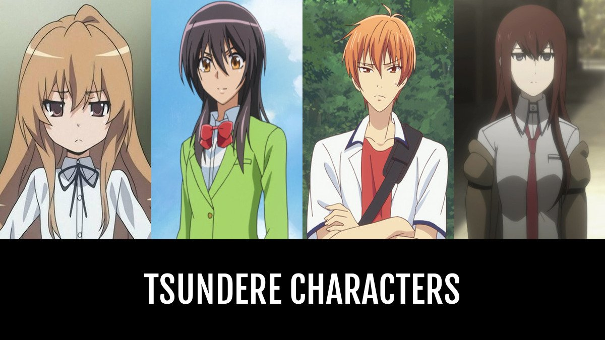 Tsundere Characters  Anime-Planet