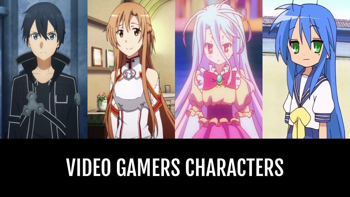Best Video Gamers Characters