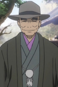 bald anime characters planet character jigoku tags manga male eyes hat hell