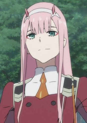 Anime Characters Zero : Zero two anime planet