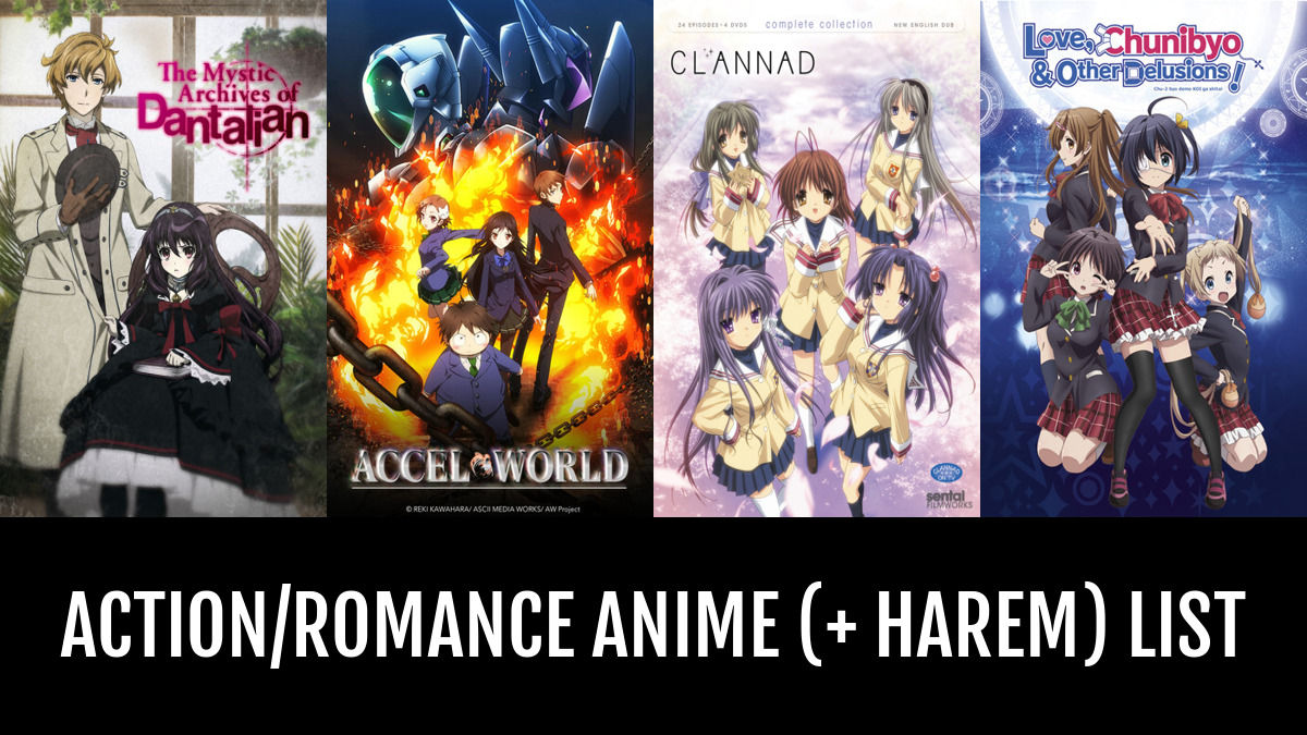 Action Romance Anime Harem