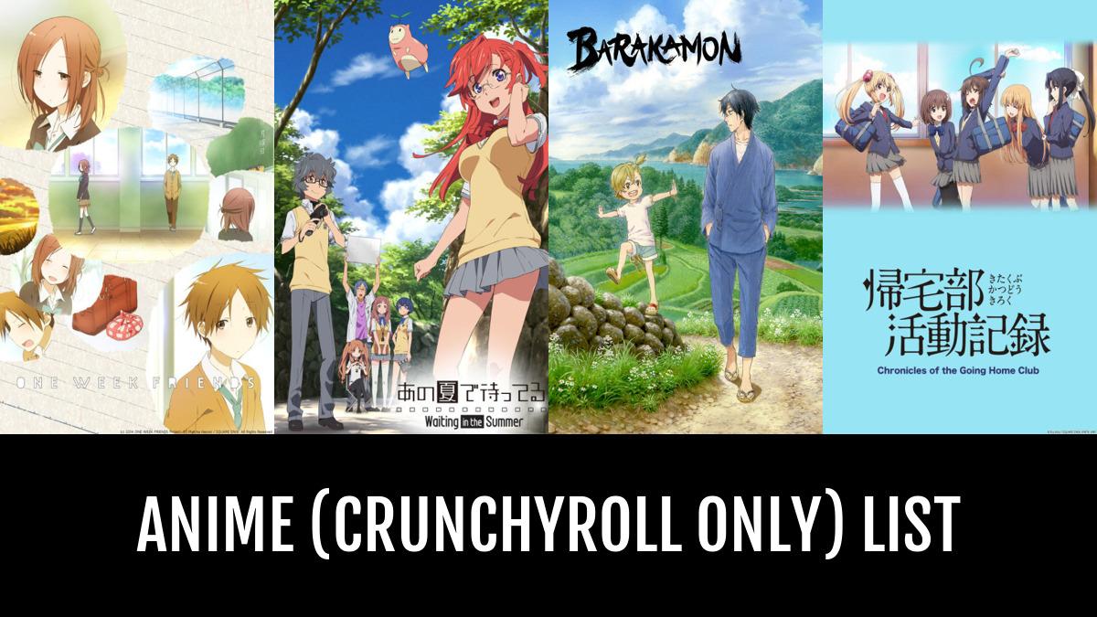 Anime Crunchyroll Only