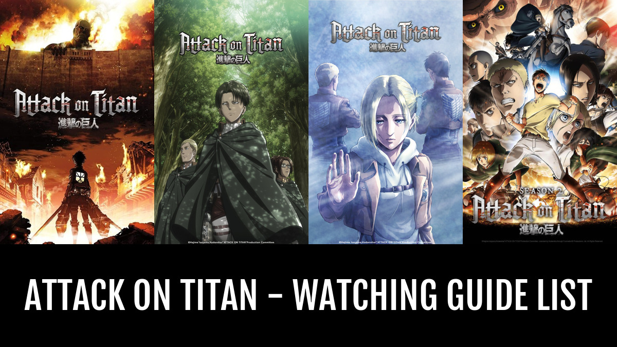 Attack On Titan Watching Guide By Halex Anime Planet